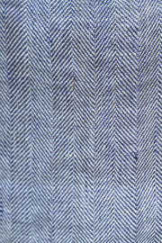 Tailored Pillowcases Herringbone Navy