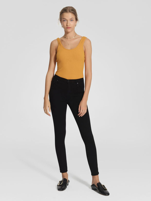 Cult Skinny Ankle Jean Power Black