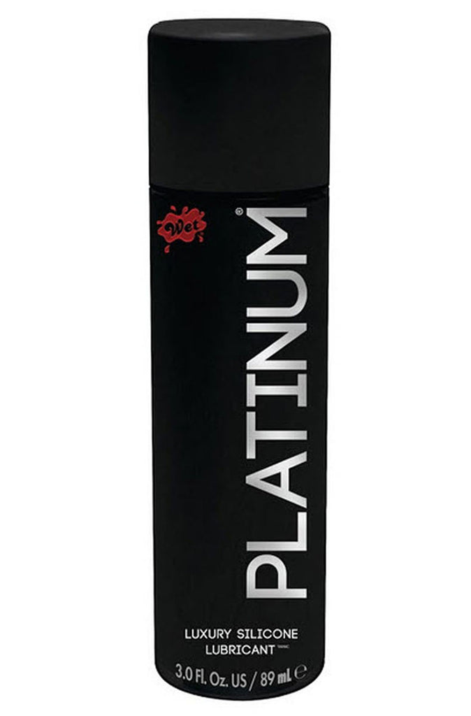 Wet Platinum Luxury Silicone Lubricant