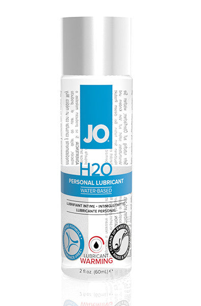 Jo H2o Water-Based Warming Lubricant