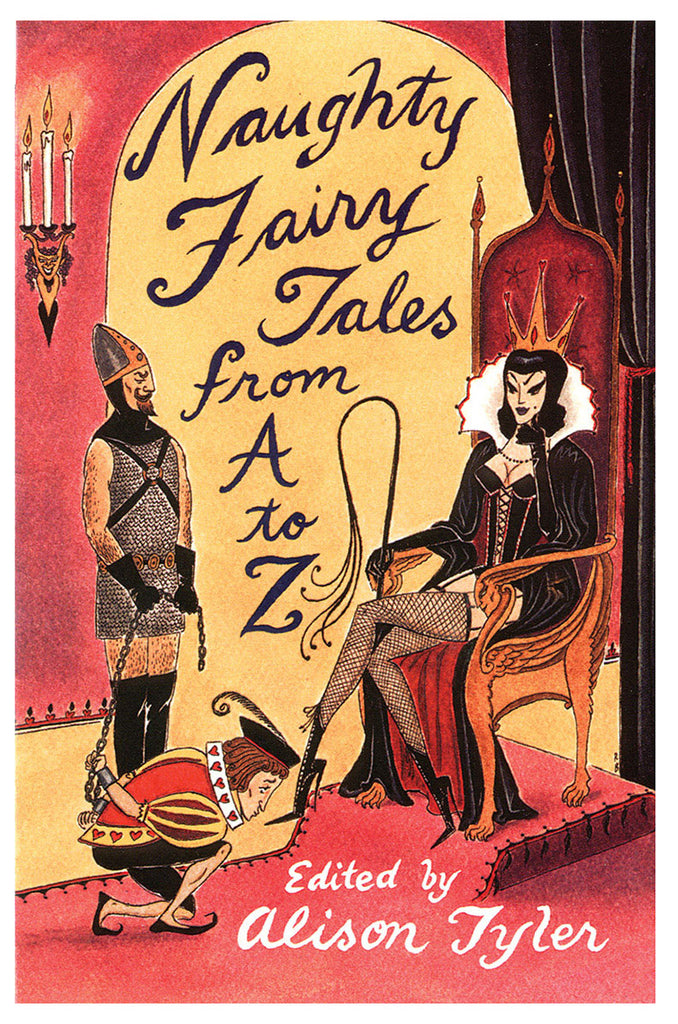 Naughty Fairy Tales from A-Z Book