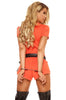 Booked Woman Inmate Costume