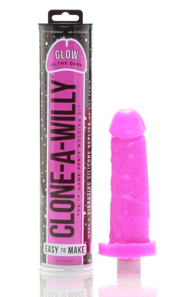 Clone A Willy in Hot Pink Glow In The Dark