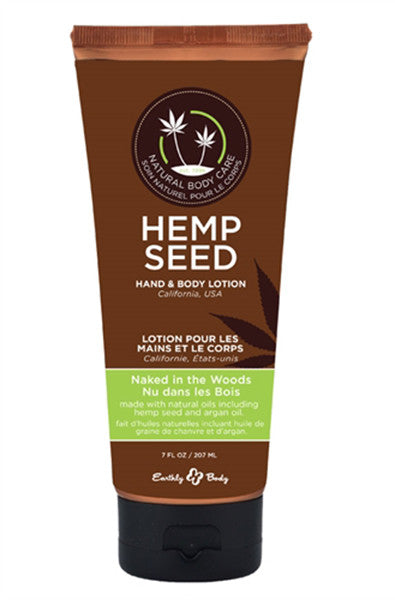Hemp Seed Hand and Body Lotion - Naked in the Woods