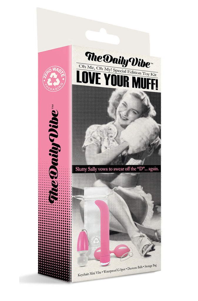 The Daily Vibe Love Your Muff Toy Kit