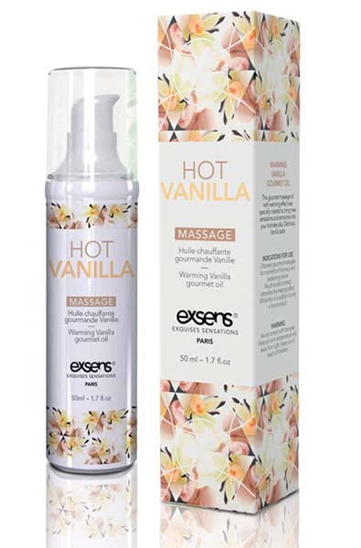 EXSENS of Paris Warming Massage Oil in Hot Vanilla