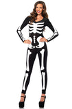 Glow in the Dark Skeleton Catsuit