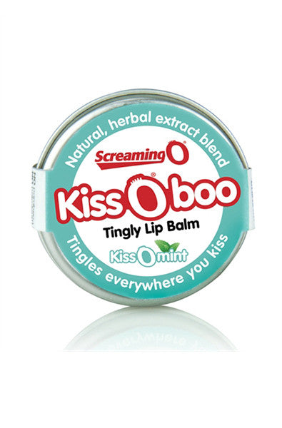 Kissoboo Tingly Lip Balm - Each - Kissomint - thewhiteunicorn