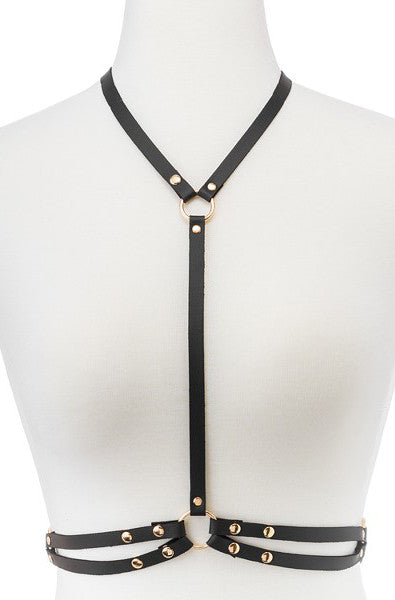 Harness with O rings - thewhiteunicorn
