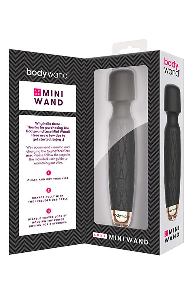 Bodywand Luxe Mini Massager in Black