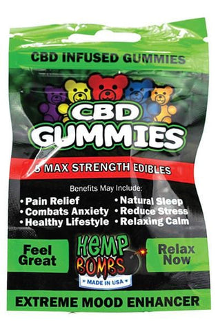 CBD High Dose Hard Candies (50mg) in Lemon