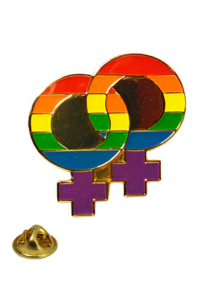 Rainbow Double Female Pin
