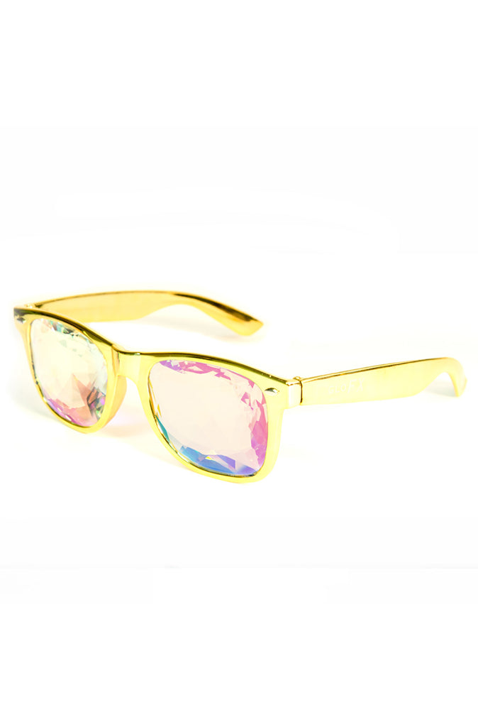 Ultimate Kaleidoscope Glasses in Gold