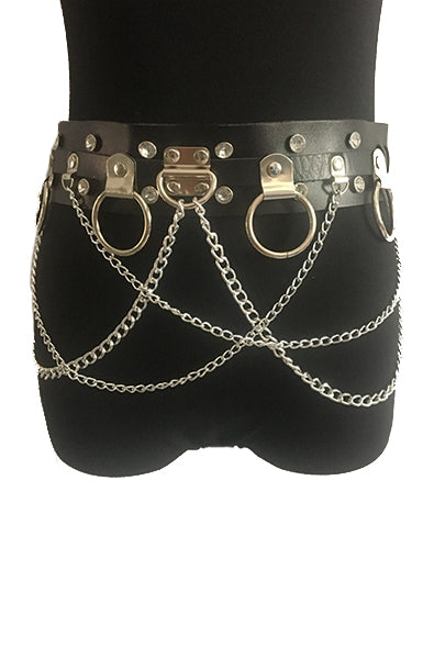 Chain Belt in Black