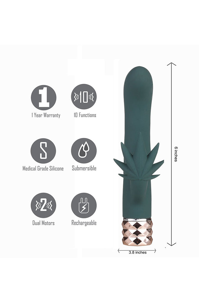 Kusha Cannabis Rabbit Vibrator