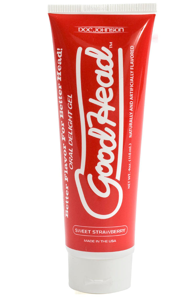 Goodhead Oral Delight Gel in Strawberry
