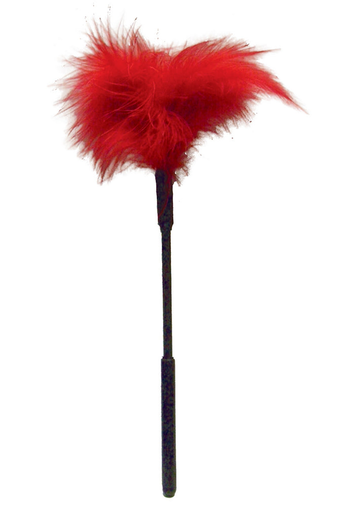 Feather Tickler in Red