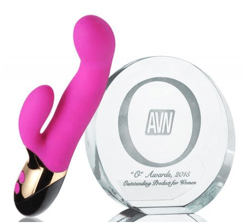 Inmi Come Hither Dual Stimulation Flexing Vibrator in Pink - thewhiteunicorn