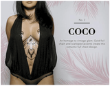 Temporary Body Tattoo- Coco - thewhiteunicorn