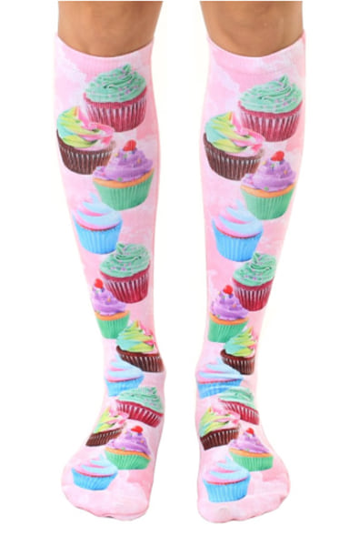 Cupcake Dream Knee High Socks