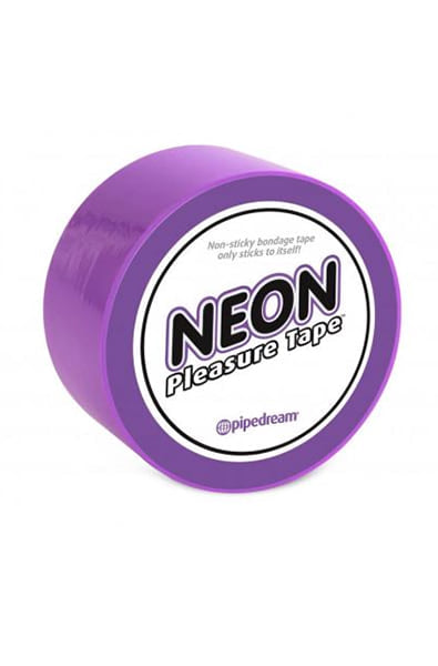 Neon Bondage Tape in Purple