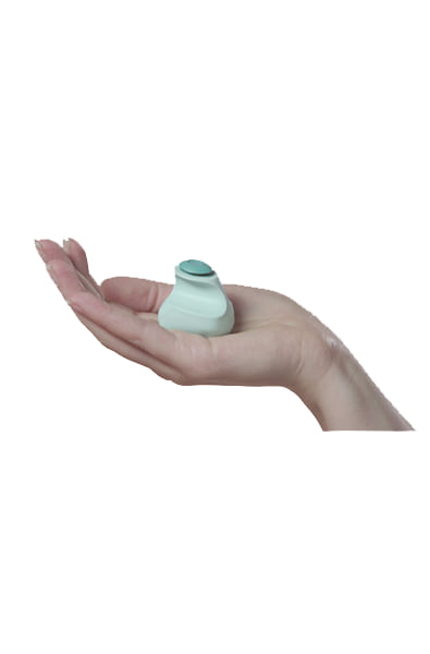 Fin Finger Vibrator in Jade Green - thewhiteunicorn