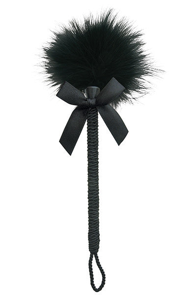 Feather Tickler in Black - thewhiteunicorn