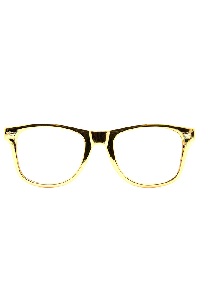 Ultimate Diffraction Glasses in Gold