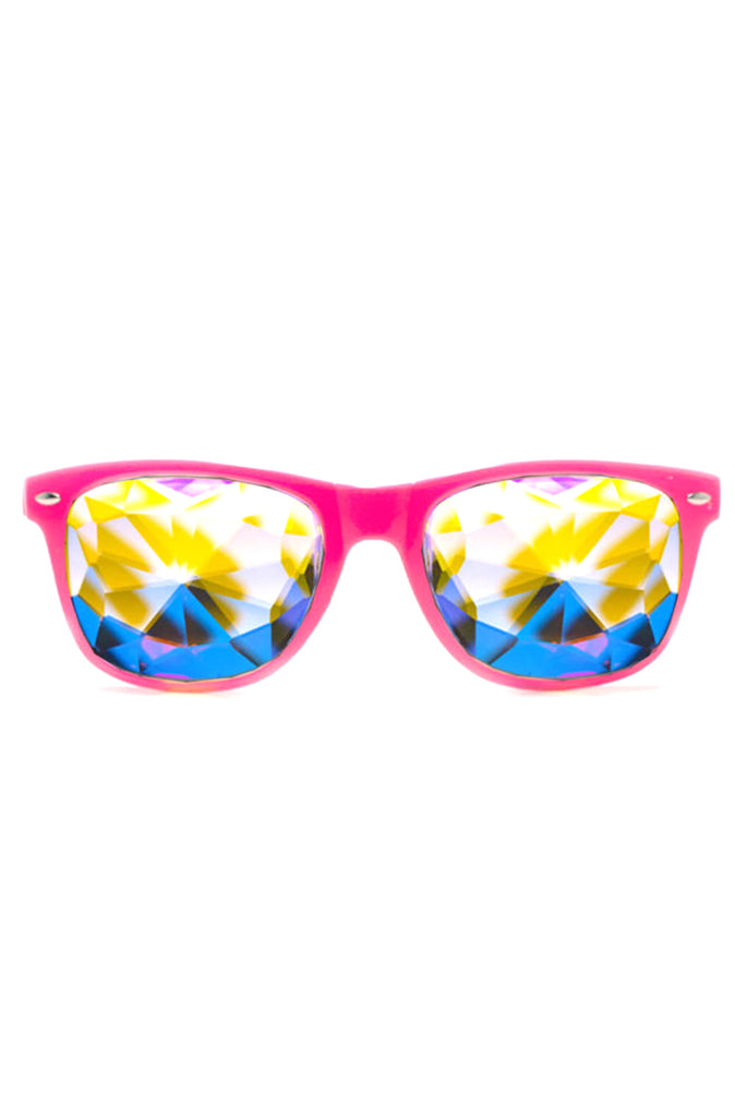 Ultimate Kaleidoscope Glasses in Pink
