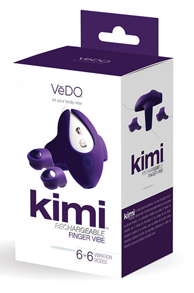Vedo Kimi Rechargeable Dual Finger Vibe with Remote Control