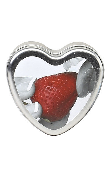 Strawberry Edible Body Candle