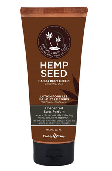 Hemp Seed Hand and Body Lotion - Unscented