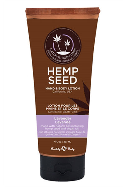Hemp Seed Hand and Body Lotion -  Lavender