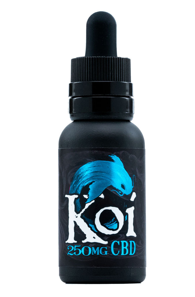 Koi CBD Vape Juice in Blue Raspberry Dragon Fruit