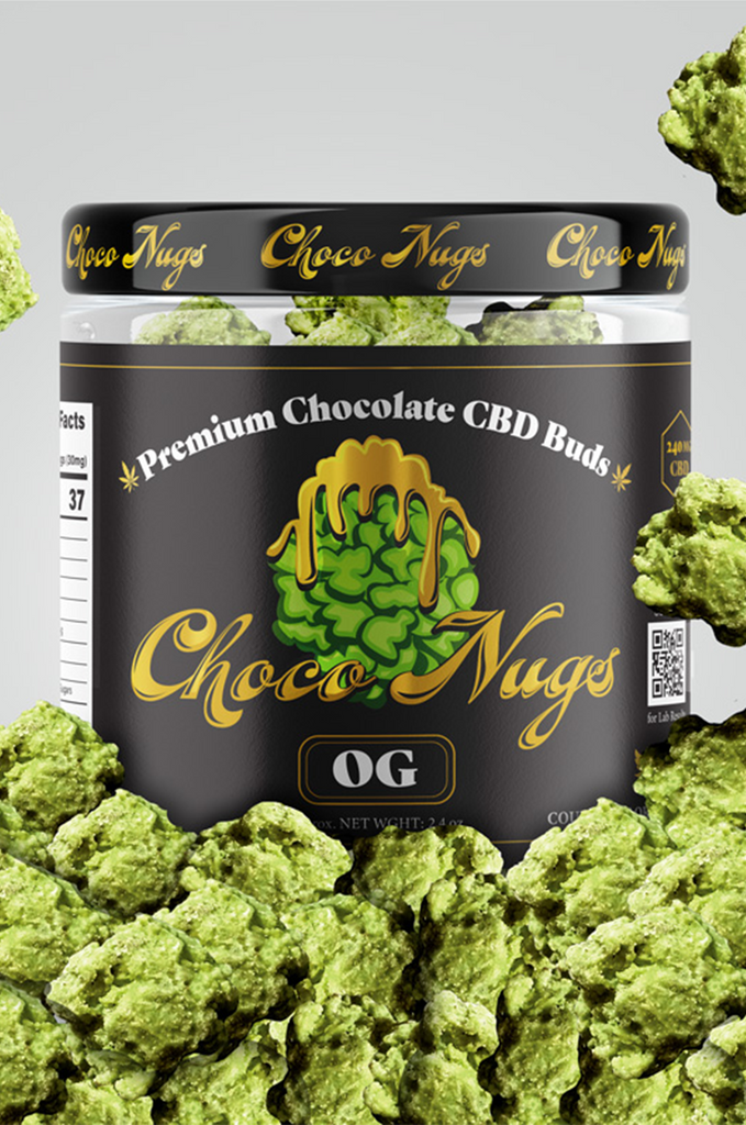 CBD 240mg Chocolate Buds Choco Nugs