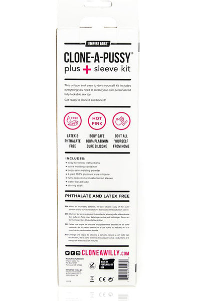 Clone A Pussy Plus Sleeve Kit