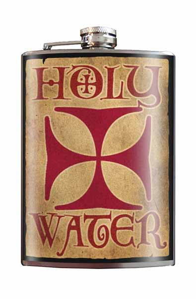 Holy Water Flask - thewhiteunicorn