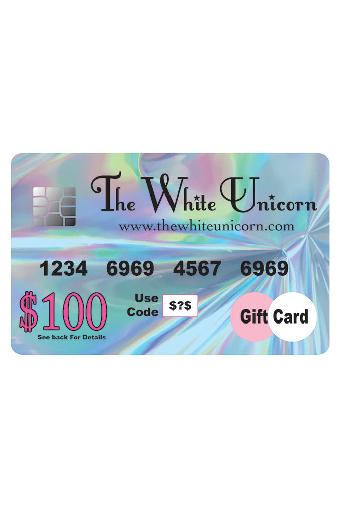 The White Unicorn Gift Card