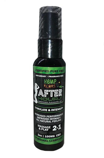 Hemp Bombs After Hours Enhanced Pleasure Gel