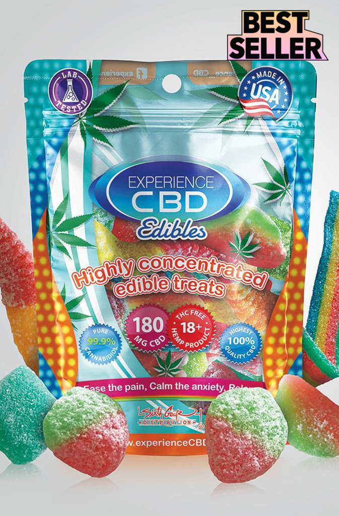 Experience CBD 180mg Assorted
