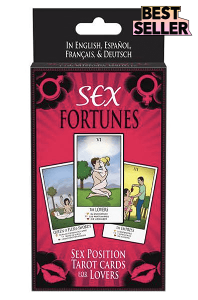 Sex Fortunes Tarot Cards For Lovers Game