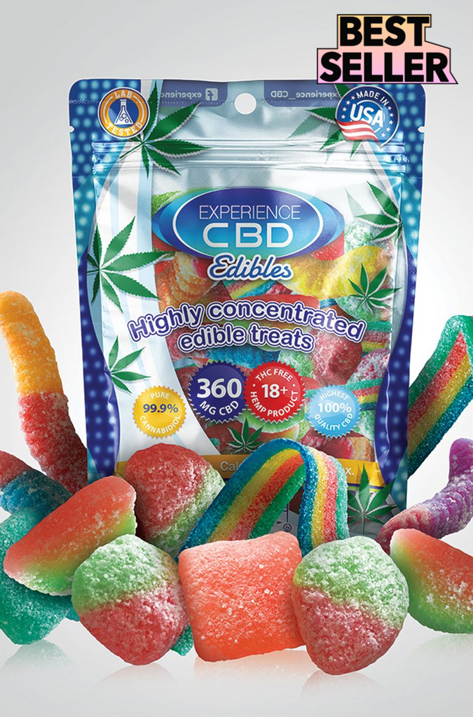 Experience CBD 360mg Assorted