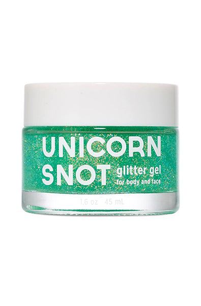 Unicorn Snot Glitter Gel in Green