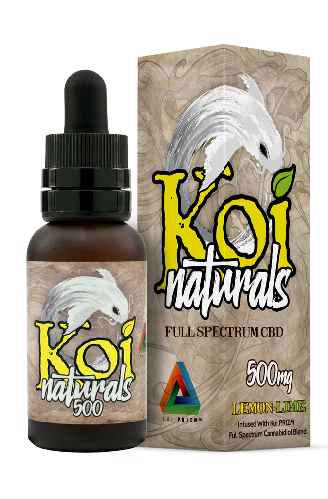 Koi Naturals CBD Oil in Lemon Lime