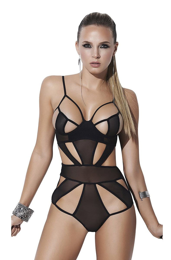 Sheer Mesh Teddy