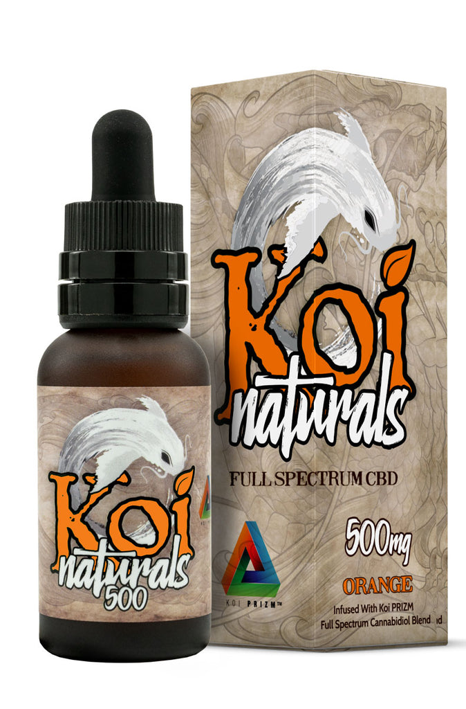 Koi Naturals CBD Oil in Orange