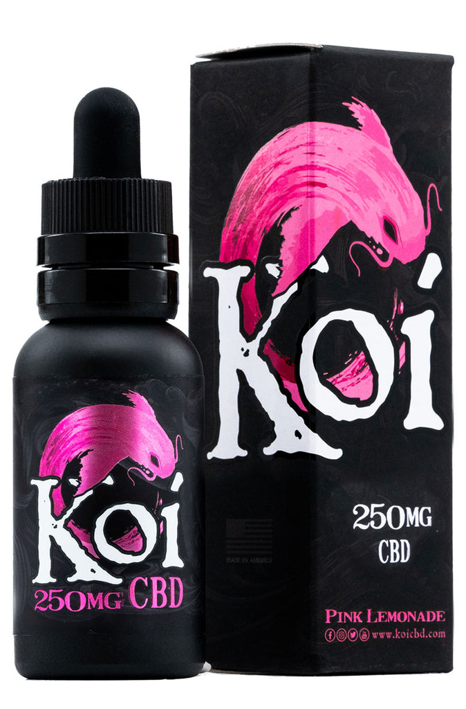 Koi CBD Vape Juice in Pink Lemonade