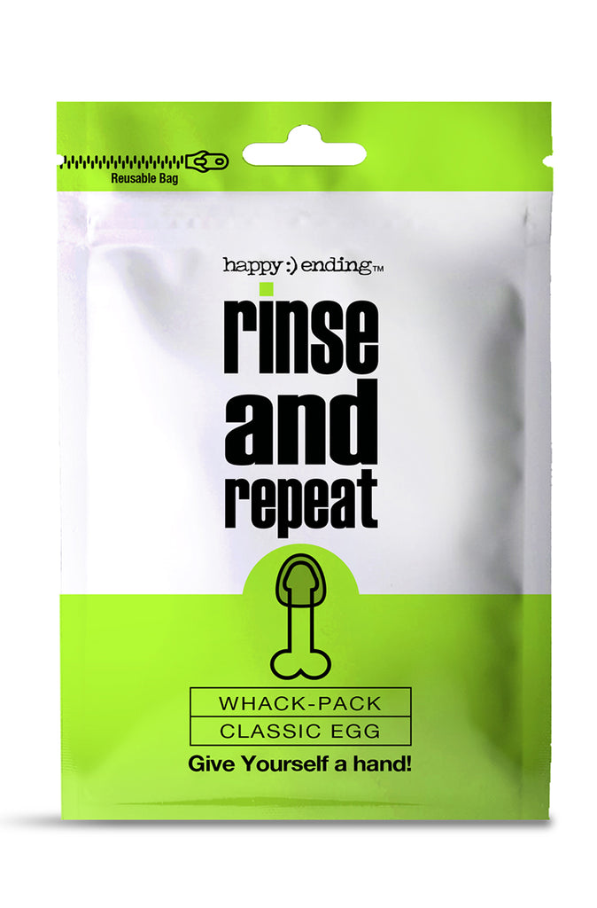 Happy Ending Rinse and Repeat Whack Pack Egg
