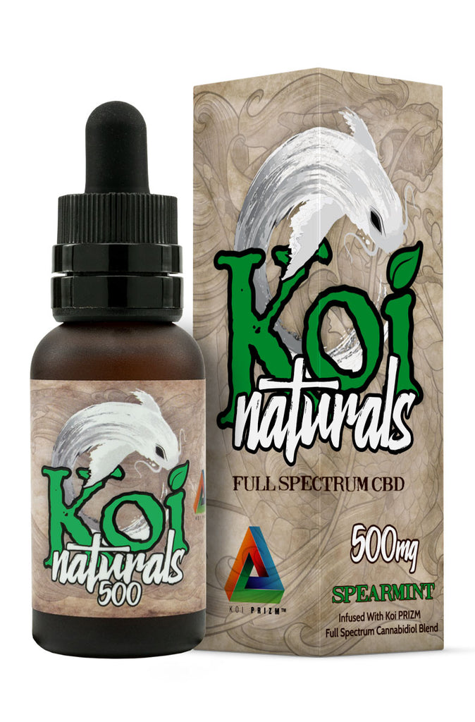 Koi Naturals CBD Oil in Spearmint