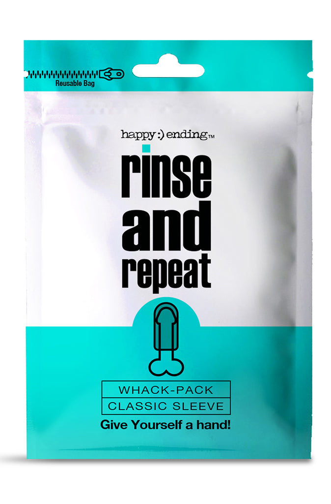 Happy Ending Rinse and Repeat Whack Pack Sleeve